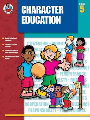 cover image of Character Education, Grade 5