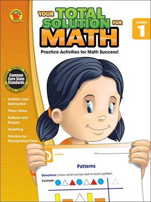 cover image of Your Total Solution for Math, Grade 1