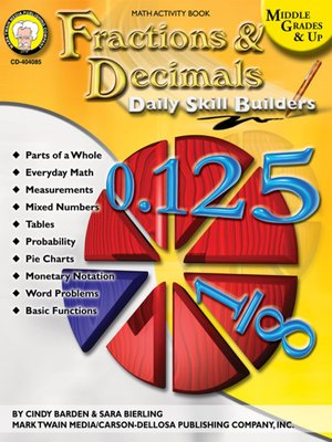 cover image of Fractions & Decimals