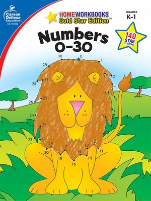 cover image of Numbers 0-30, Grades K--1