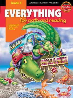 cover image of Everything for Math and Reading, Grade 4