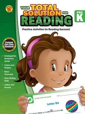 cover image of Your Total Solution for Reading, Grade PK