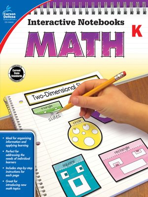 cover image of Math, Grade K