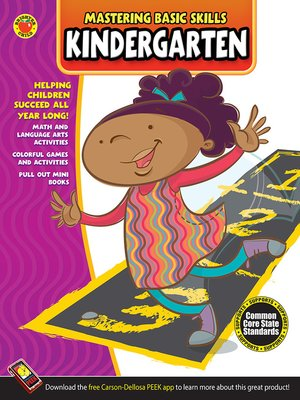 cover image of Mastering Basic Skills® Kindergarten Workbook