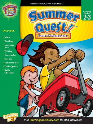 cover image of Summer Quest™, Grades 2 - 3