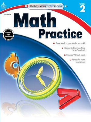 cover image of Math Practice, Grade 2