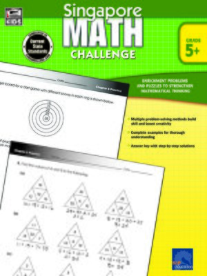 cover image of Singapore Math Challenge, Grades 5 - 8