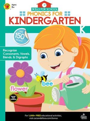 cover image of Skills for School Phonics for Kindergarten