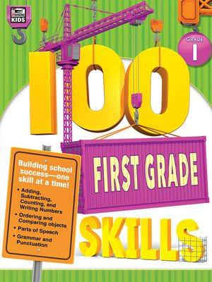 cover image of 100 First Grade Skills
