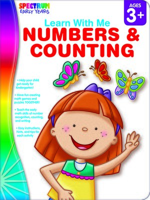 cover image of Numbers & Counting, Grades Preschool - K