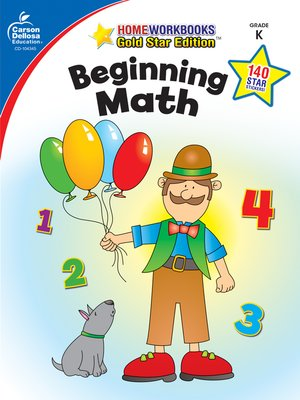 cover image of Beginning Math, Grade K