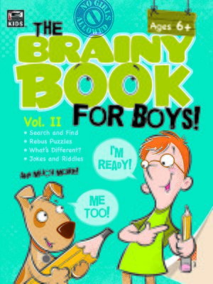 cover image of Brainy Book for Boys, Volume 2 Activity Book