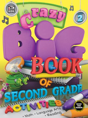 cover image of Crazy Big Book of Second Grade Activities