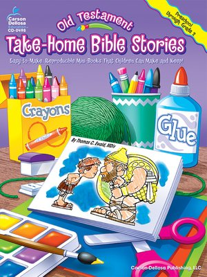 cover image of Old Testament Take-Home Bible Stories, Grades Preschool--2