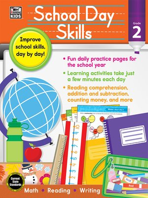 cover image of School Day Skills, Grade 2