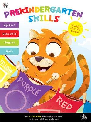 cover image of Prekindergarten Skills