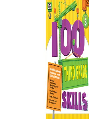 cover image of 100 Third Grade Skills