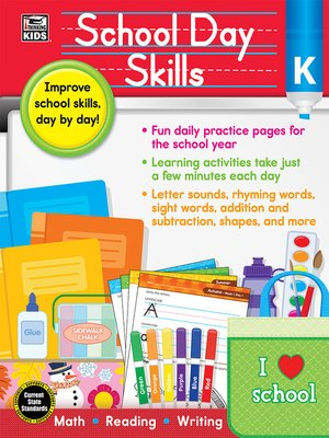 cover image of School Day Skills, Grade K