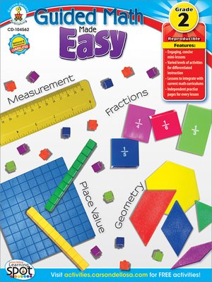 cover image of Guided Math Made Easy, Grade 2
