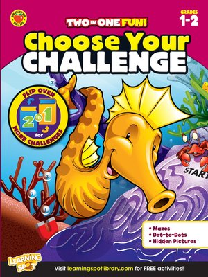 cover image of Choose Your Challenge, Grades 1 - 2