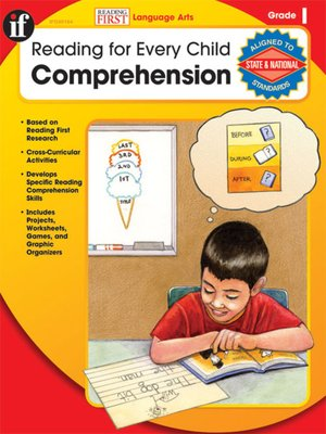 cover image of Comprehension, Grade 1