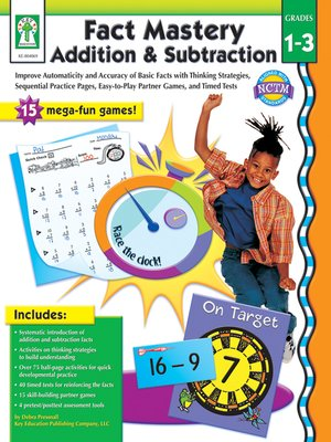 cover image of Fact Mastery Addition & Subtraction