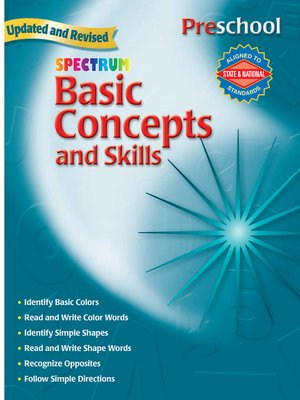 cover image of Basic Concepts and Skills, Grade Preschool