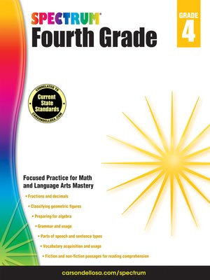 cover image of Spectrum Grade 4