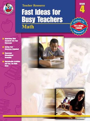 cover image of Fast Ideas for Busy Teachers: Math, Grade 4