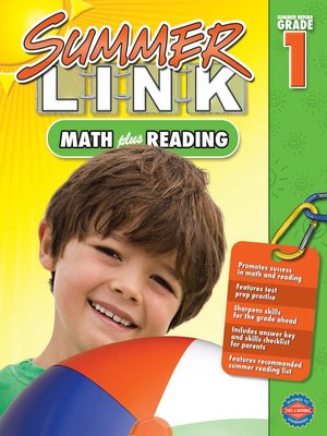 cover image of Math Plus Reading, Grades K - 1
