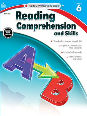 cover image of Reading Comprehension and Skills, Grade 6