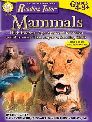 cover image of Mammals, Grades 4 - 8