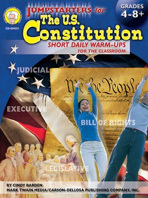 cover image of Jumpstarters for the U. S. Constitution