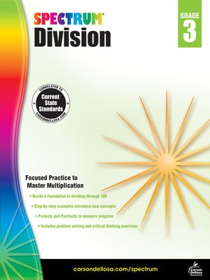 cover image of Division, Grade 3