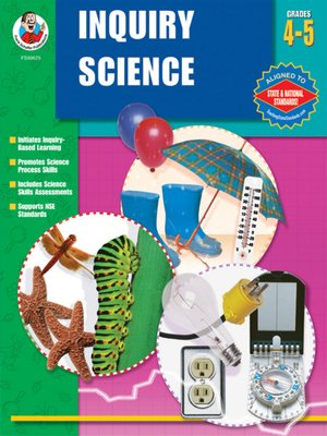 cover image of Inquiry Science, Grades 4 - 5