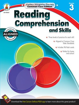 cover image of Reading Comprehension and Skills, Grade 3