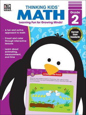 cover image of Thinking Kids' Math, Grade 2