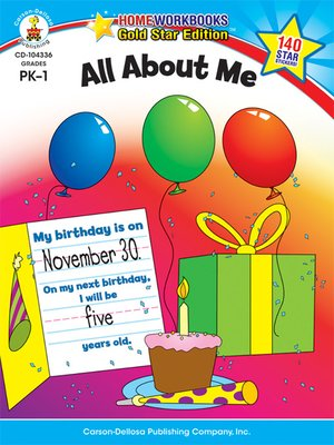 cover image of All About Me, Grades PK--1