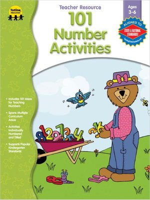 cover image of 101 Number Activities