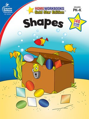cover image of Shapes, Grades PK--K