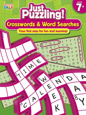 cover image of Crosswords & Word Searches, Grades 2 - 5