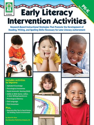 cover image of Early Literacy Intervention Activities