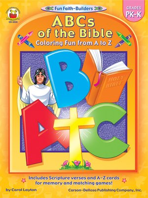 cover image of ABCs of the Bible, Grades PK--K