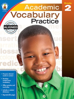 cover image of Academic Vocabulary Practice, Grade 2