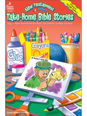 cover image of New Testament Take-Home Bible Stories, Grades Preschool--2