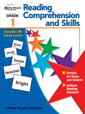 cover image of Reading Comprehension and Skills, Grade 1