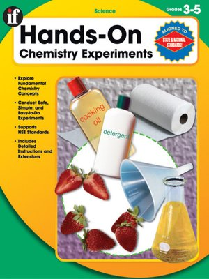 cover image of Hands-On Chemistry Experiments, Gr. 3 - 5