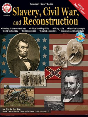 cover image of Slavery, Civil War, and Reconstruction