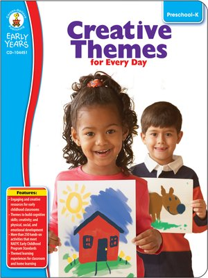 cover image of Creative Themes for Every Day, Grades Preschool - K