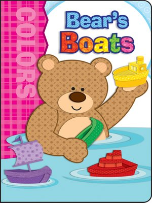 cover image of Bear's Boats, Grades Infant - Preschool
